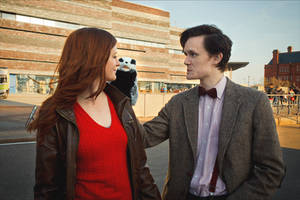 Amy, say hello to Charlie! - Doctor Who Cosplay by Matteleven