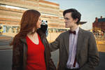 Amy, say hello to Charlie! - Doctor Who Cosplay