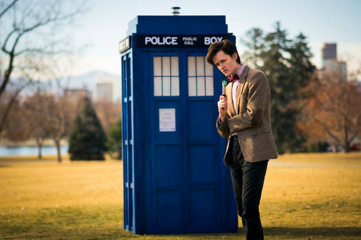 Me and the TARDIS in Denver