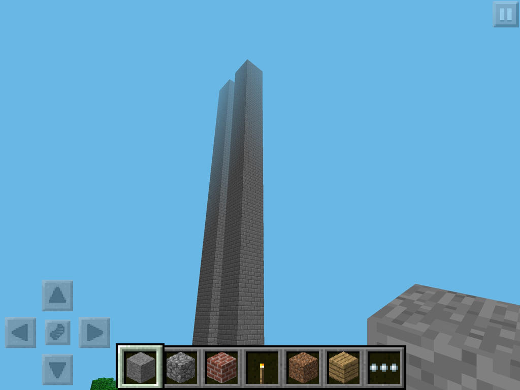 twin towers minecraft pe by winston1001w11 on deviantart