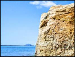 Omokoroa Rock by eRiQ