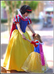 snow white and a half