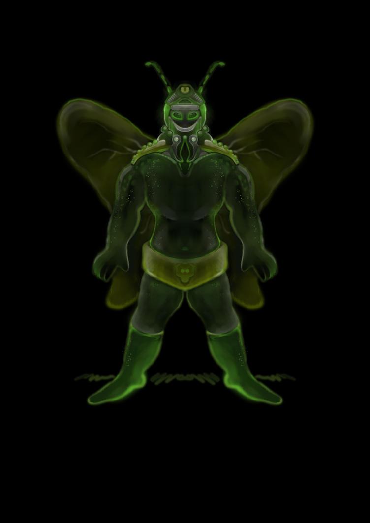 Butterfly Man - Krita by eRiQ