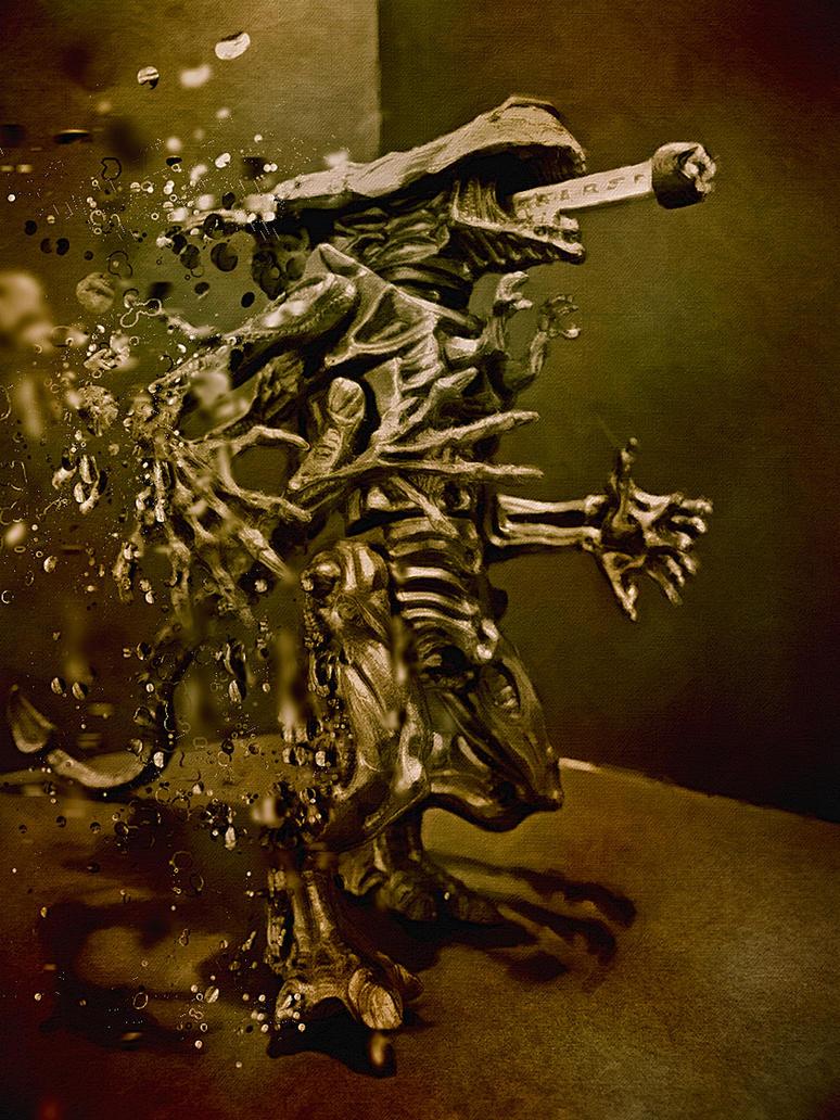 Alien Photoshopping by eRiQ