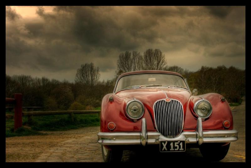 Red Veteran car