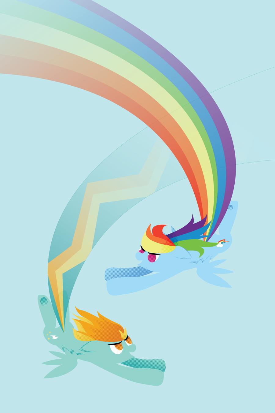 rainbow dash vs lighting - photo #3