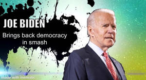 Joe Biden In Super Smash Bros Ultimate