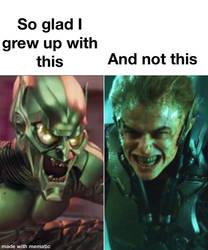 William Dafoe Is The Best Green Goblin
