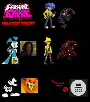 FNF: Hell's Got Talent- More Characters Added