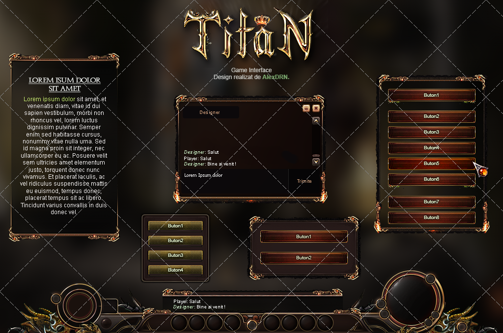 Metin2Titan -Client interface- by AlexDRN