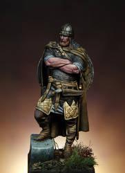 Viking Chief by erillustrator
