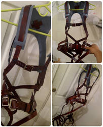 Attack on Titan 3D Maneuver Gear by passbyguy