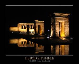 Debod's Temple 1