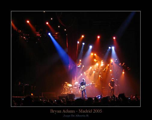 Bryan Adams - Madrid 2005