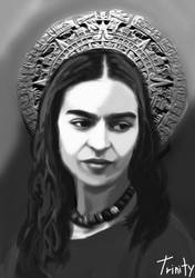 Holy Frida by Kittengrapher