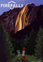 Firefalls by Caliosidhe