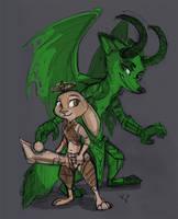 Demon Hunter Nick and Paladin Judy