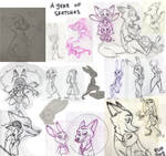 2018 Zootopia Sketchdump