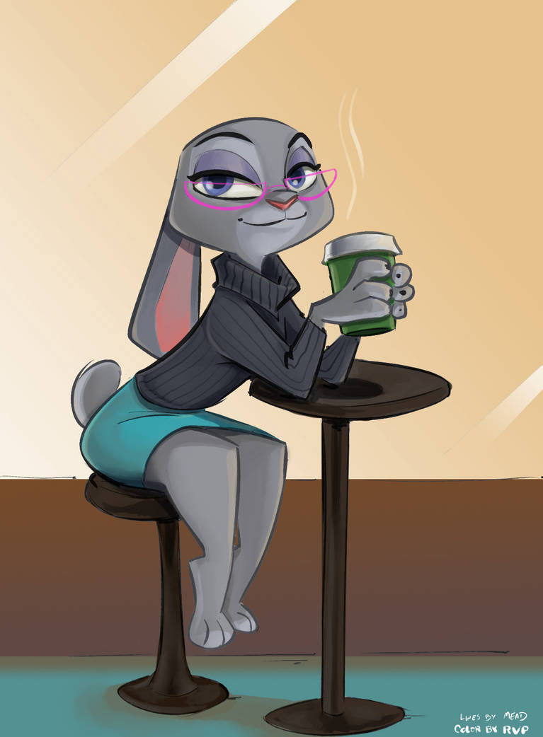 Violet Hopps collaboration by Caliosidhe