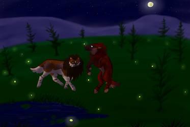 Weekly Quest Fireflys by Berkelis