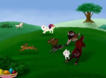 Bunny Round Up by Berkelis
