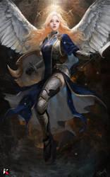 ANGEL by Benmoranartist