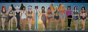WorldOfTheGiantess - The Goddesses Arrival by Tiny-Mk