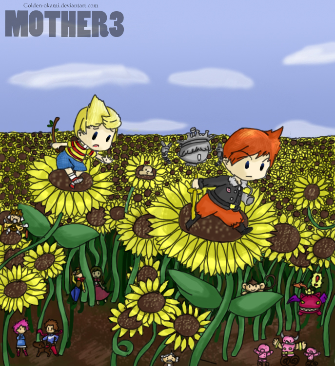 MOTHER 3 by Golden-Okami
