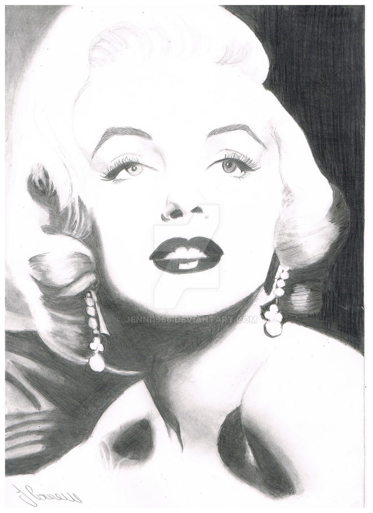 Marilyn Monroe By Jenni Connell