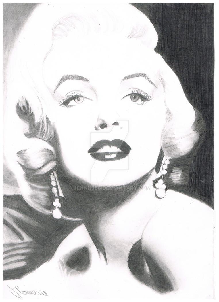 Marilyn Monroe By Jenni Connell by jenni1966