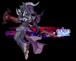 Eden Eternal Warlock Sig by KrisRay