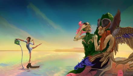 Art Battle 2010 - Round 1 by Anonymer-User