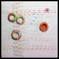 In a Circle Embroidery
