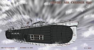 Soviet Air Cruiser 025 by The-Necromancer