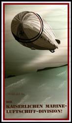 Kaiserliche Marine-Luftschiff by The-Necromancer