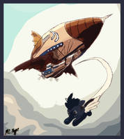 Open Skies and Free Spirits by The-Necromancer