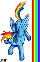 Rainbow Rainbow Rainbow DASH by The-Necromancer