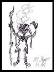 Demon Shaman by The-Necromancer