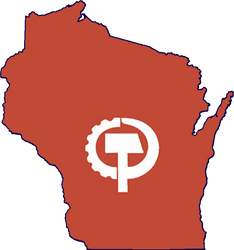 CPUSA State of Wisconsin Logo