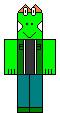Cyberlizard robloxian sprite by Sonicguy14