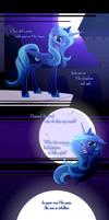 {Lyric Comic}Luna's Reply: Part 2