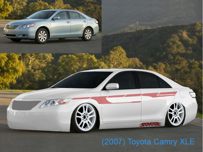2007 toyota camry xle body kit. Black Bedroom Furniture Sets. Home Design Ideas
