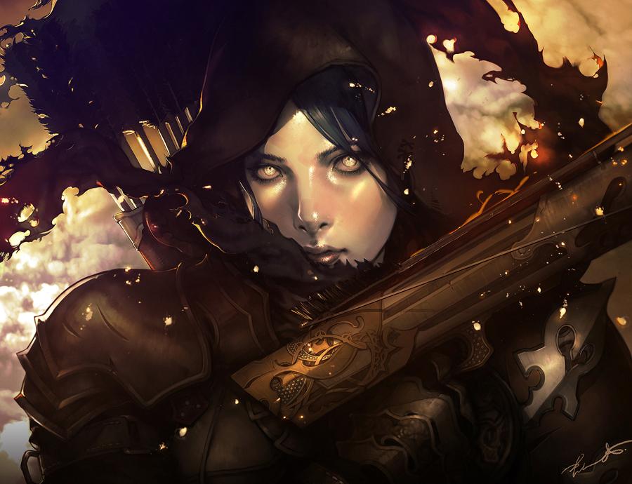 Demon Hunter by Kyrie0201 on DeviantArt
