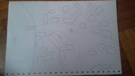 Un noel d'enfer : le village (carte)