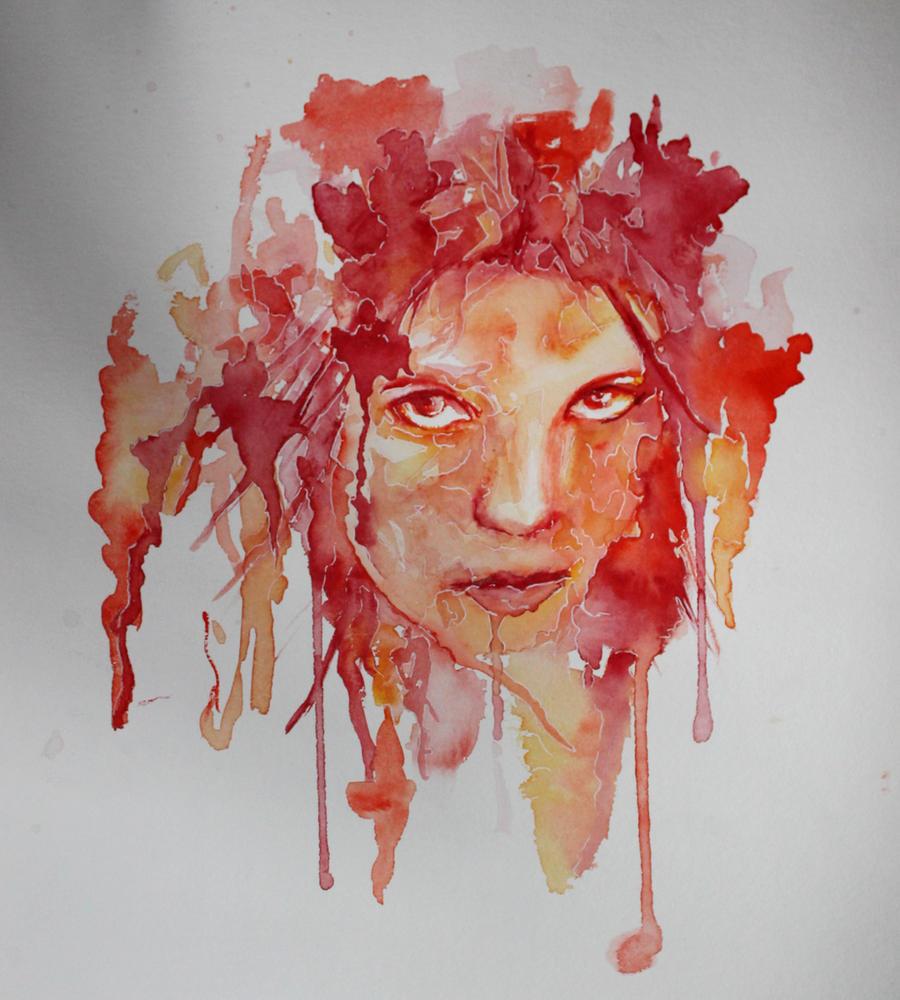Self portrait by Glasberg