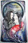 Dracula and Mina