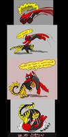 Chainsaw Vigilante and Deadpool comic #9 part 2