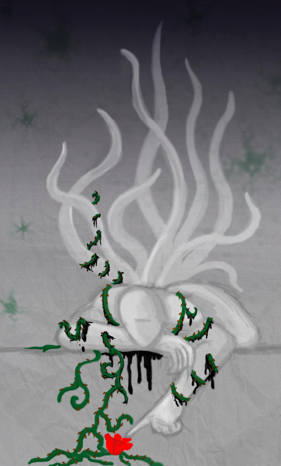 Sexual Offenderman - Sad by arcanineryu
