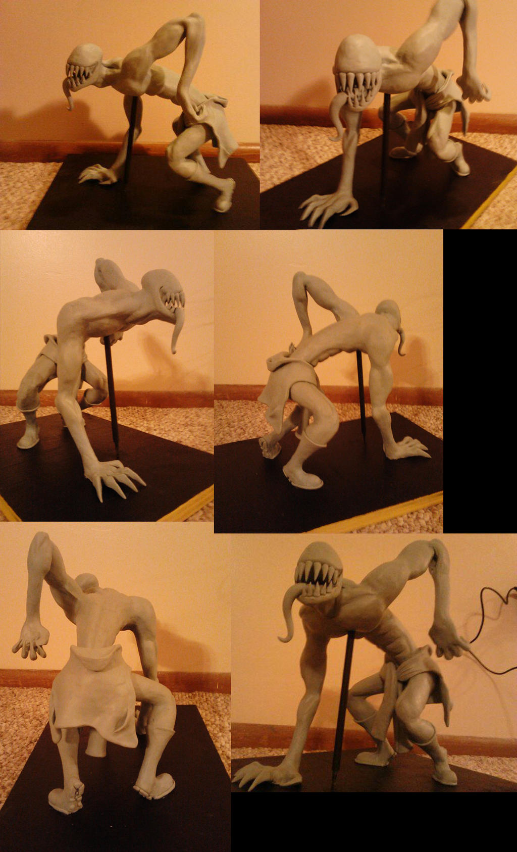 Sexual Offenderman Scuplture by arcanineryu
