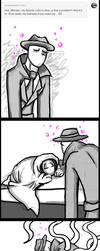 Sexual Offenderman comic- drunk and tired by arcanineryu